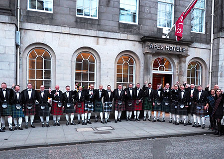 B2B INCENTIVE; EDINBURGH; 30 PAX